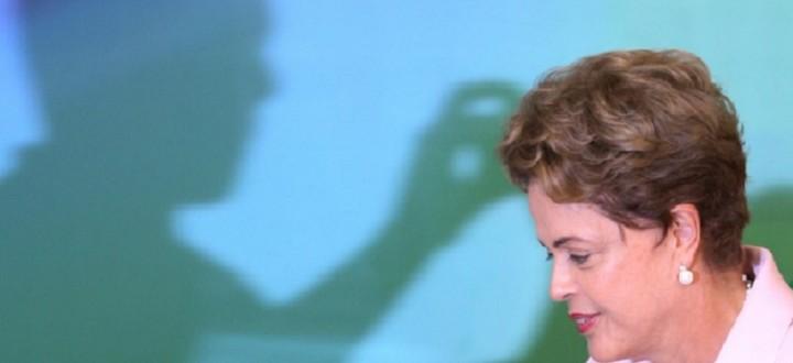Dilma sombra Foto Lula Marques Ag PT