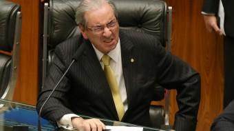 Brasília- DF 24-02-2016  Presidente da câmara, deputado Eduardo Cunha durante votações. Foto Lula Marques/Agência PT